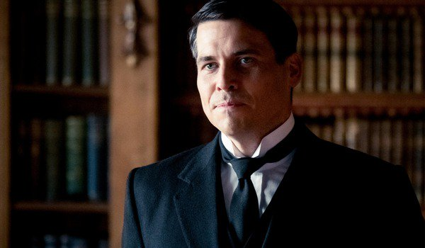 Thomas Barrow older and new butler in Downton Abbey movie