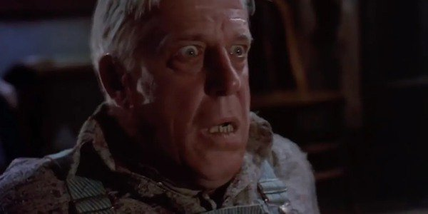 Judd looks scared in Pet Sematary