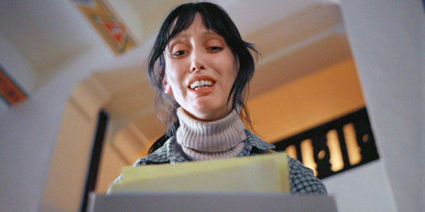 Wendy Discovers What Jack Has Been Working On in The Shining