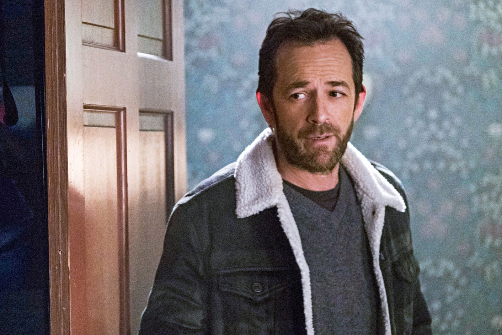 Luke Perry in Riverdale.