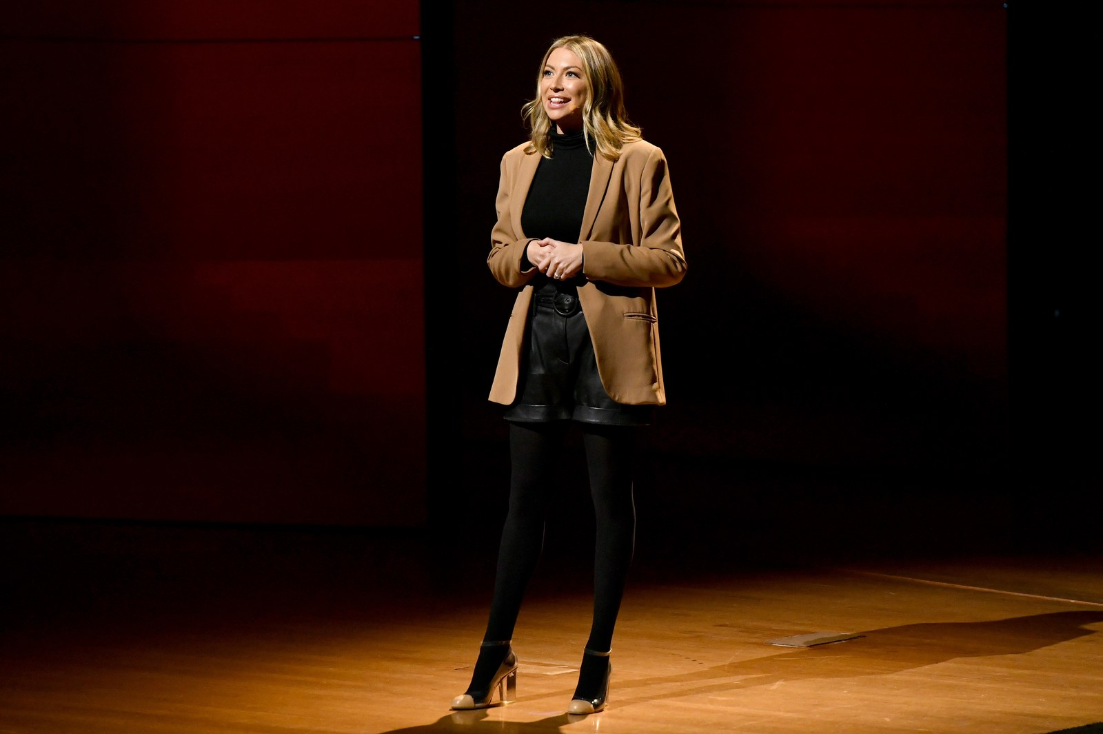 Stassi Schroeder speaks onstage during the 2019 Glamour Women Of The Year Summit at Alice Tully Hall on November 10 2019...