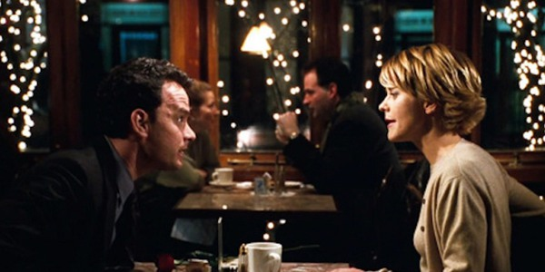 Tom Hanks and Meg Ryan in You Got Mail