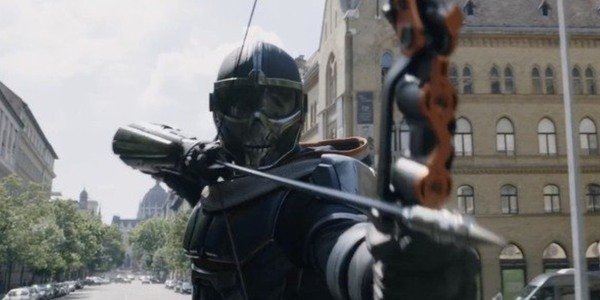 Taskmaster has changed his look quite a bit for Black Widow, too