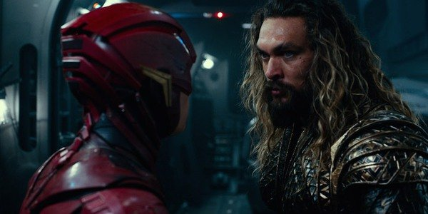 The Flash and Aquaman in Justice League