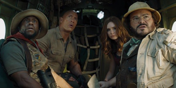 The cast of Jumanji: The Next Level
