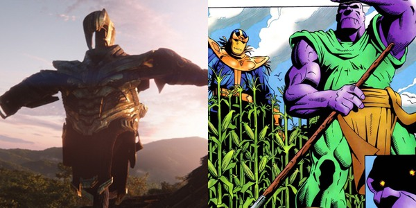 That Thanos Scarecrow would surely keep crows away