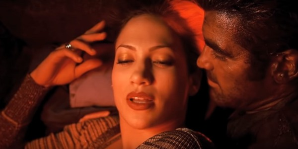 Jennifer Lopez and George Clooney in Out of Sight