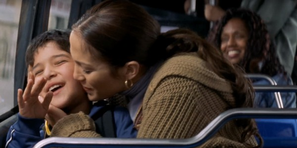 Tyler Posey and Jennifer Lopez in Maid in Manhattan
