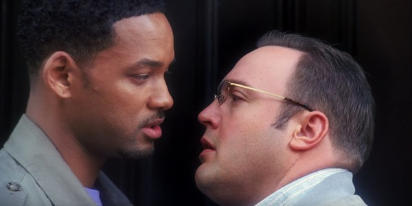 Will Smith shows Kevin Smith the moves in Hitch