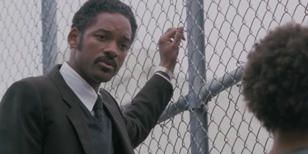 Will Smith gives fatherly advice to his son in The Pursuit of Happyness