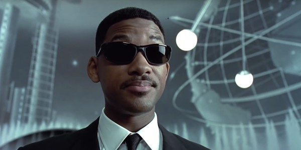 Will Smith in the first Men In Black