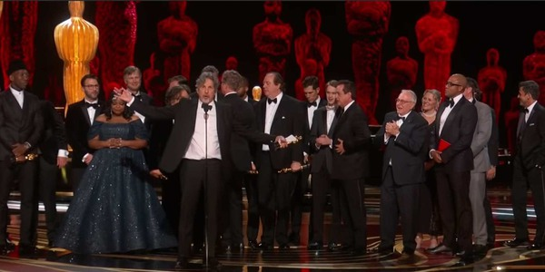 The Filmmakers of Green Book Accepting Best Picture 2019