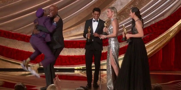 Spike Lee Accepting Best Adapted Screenplay at the Oscars 2019