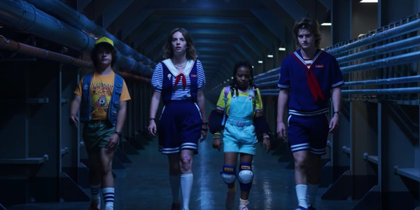 The young stars of Netflix's Stranger Things
