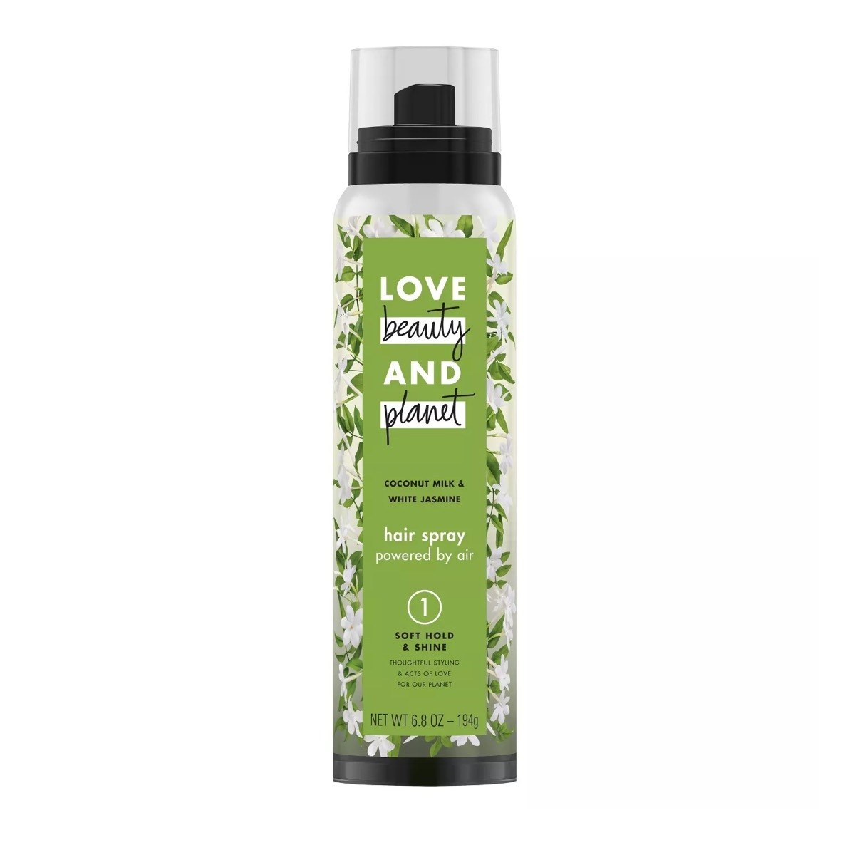 Love Beauty and Planet Coconut Milk & White Jasmine Frizz Control Hair Spray