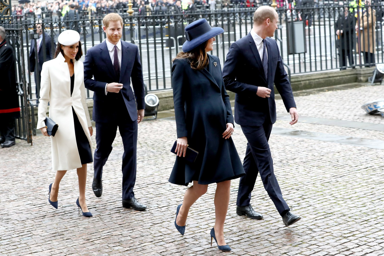 Meghan Markle Prince Harry Kate Middleton Prince William Commonwealth Day 2018