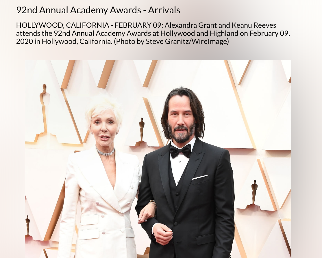 Image may contain Tie Accessories Accessory Human Person Keanu Reeves Suit Coat Clothing Overcoat and Apparel