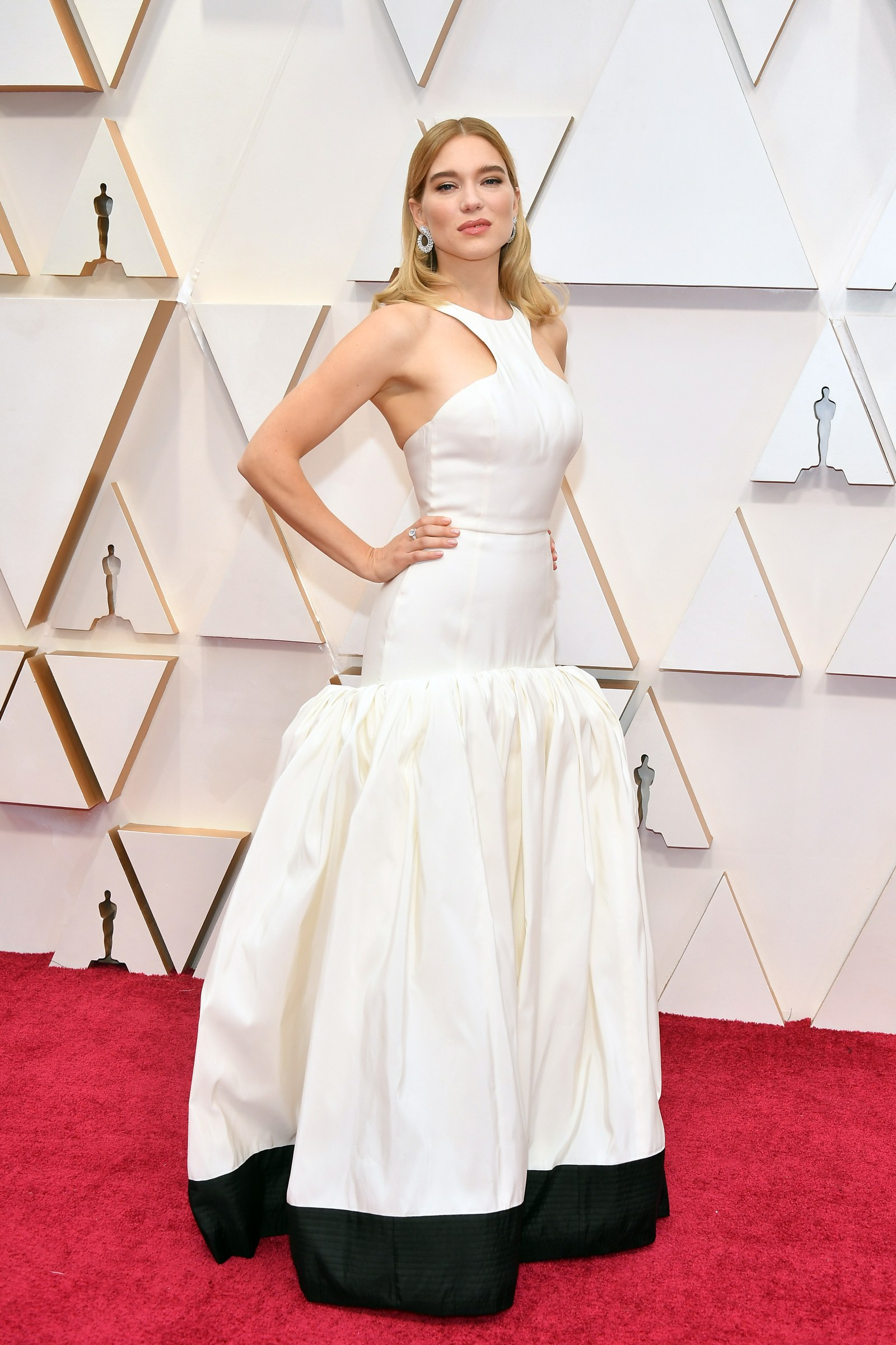 La Seydoux attends the 92nd Annual Academy Awards at Hollywood and Highland on February 09 2020 in Hollywood California.