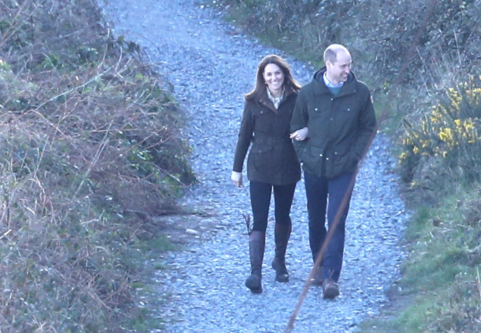 Prince William and Kate Middleton in Ireland 2020.