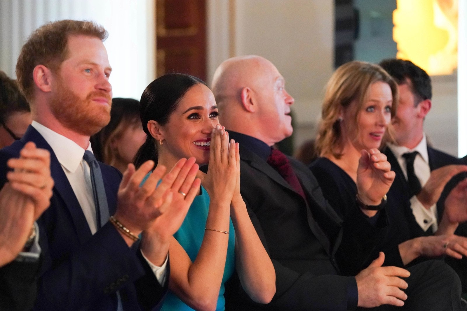 Meghan Markle and Prince Harry at the Endeavor Awards