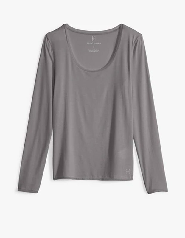 Saint Haven Perfect Fit Long Sleeve Tee