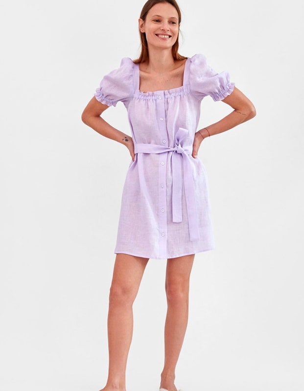 Sleeper mini dress