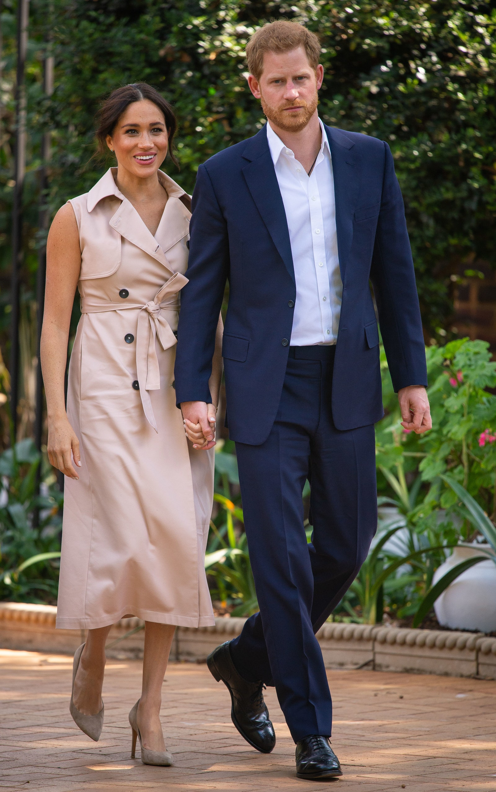 The Duke and Duchess of Sussex Meghan Markle and Prince Harry attend a creative industries and business reception at the...