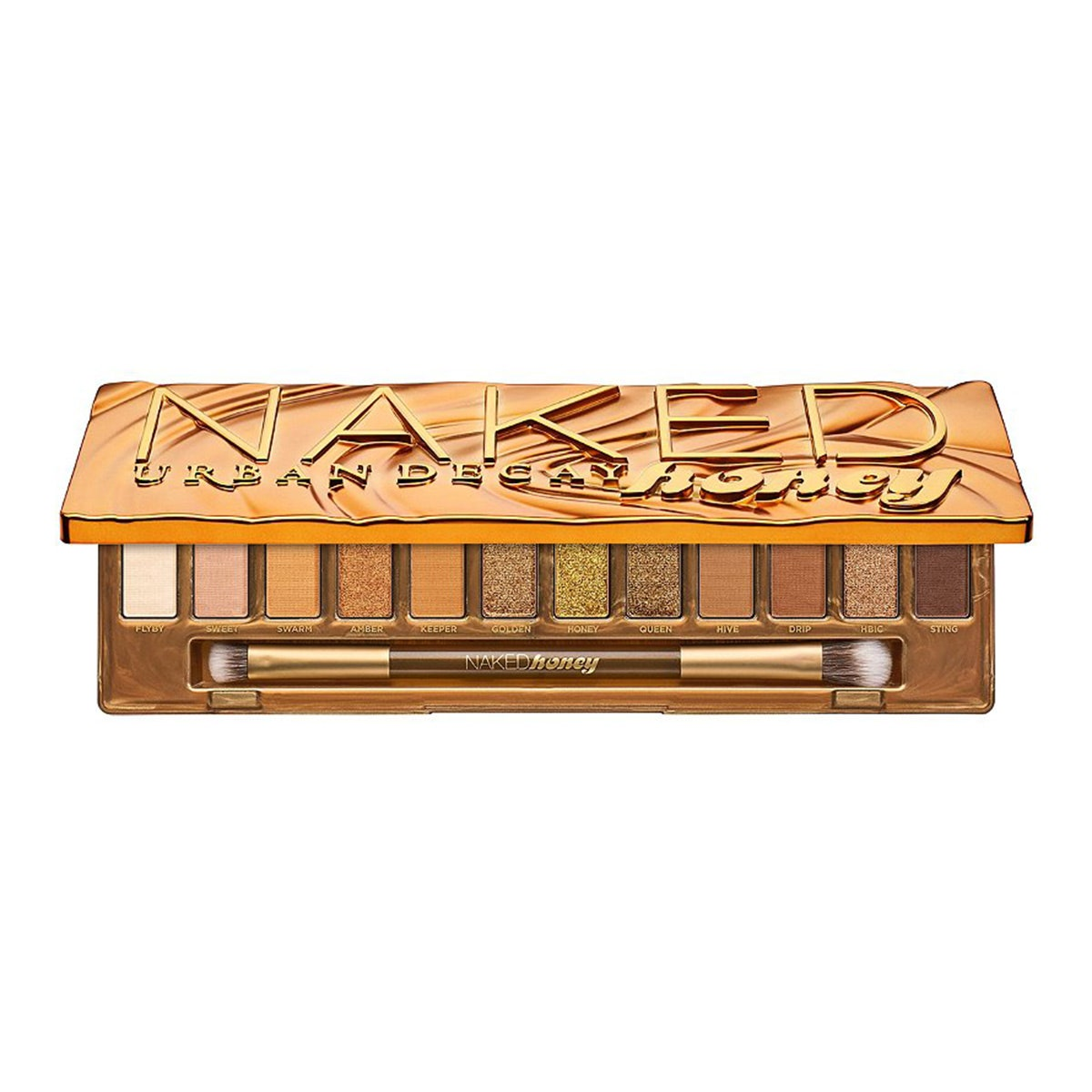 urban decay naked honey eyeshadow palette _ eyeshadow palette with warm brown and neutral shades