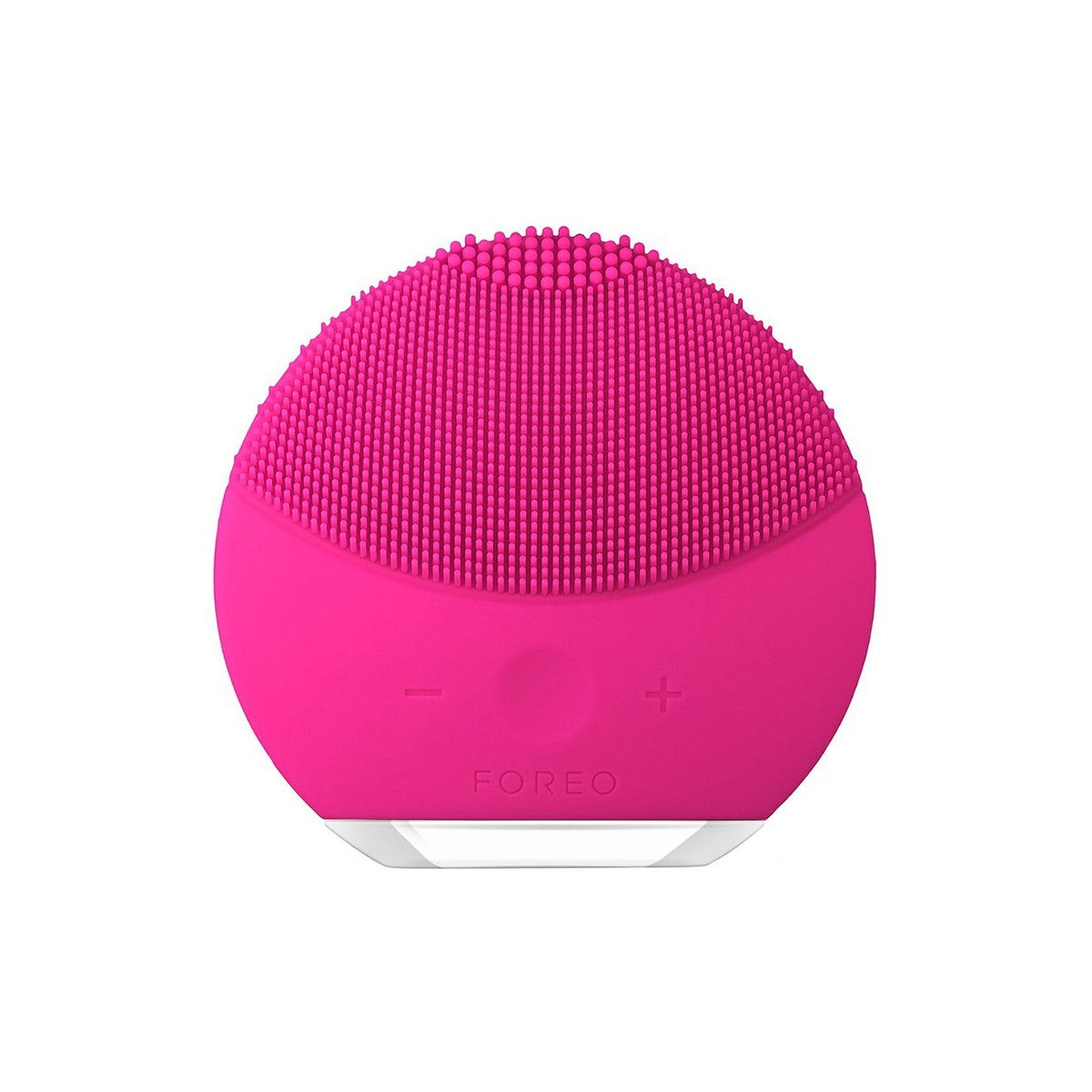 foreo luna mini 2 hot pink facial cleanser tool