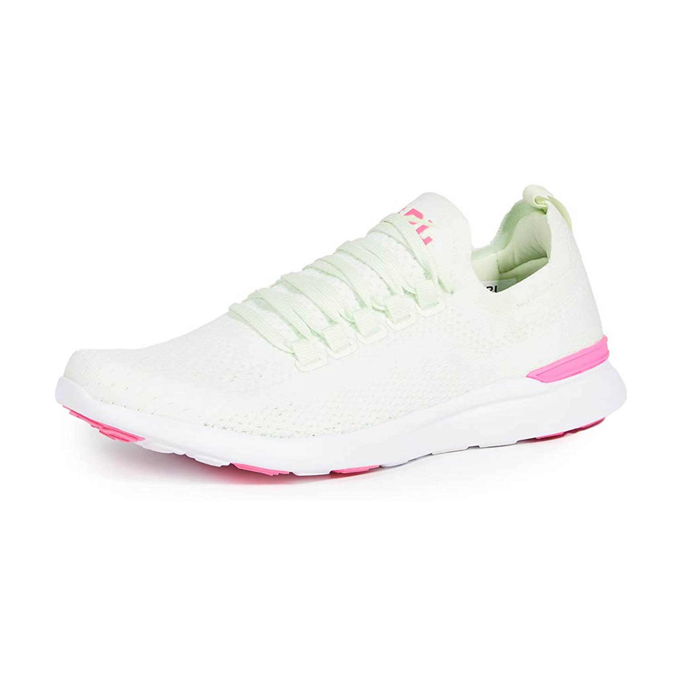 APL green and pink sneaker