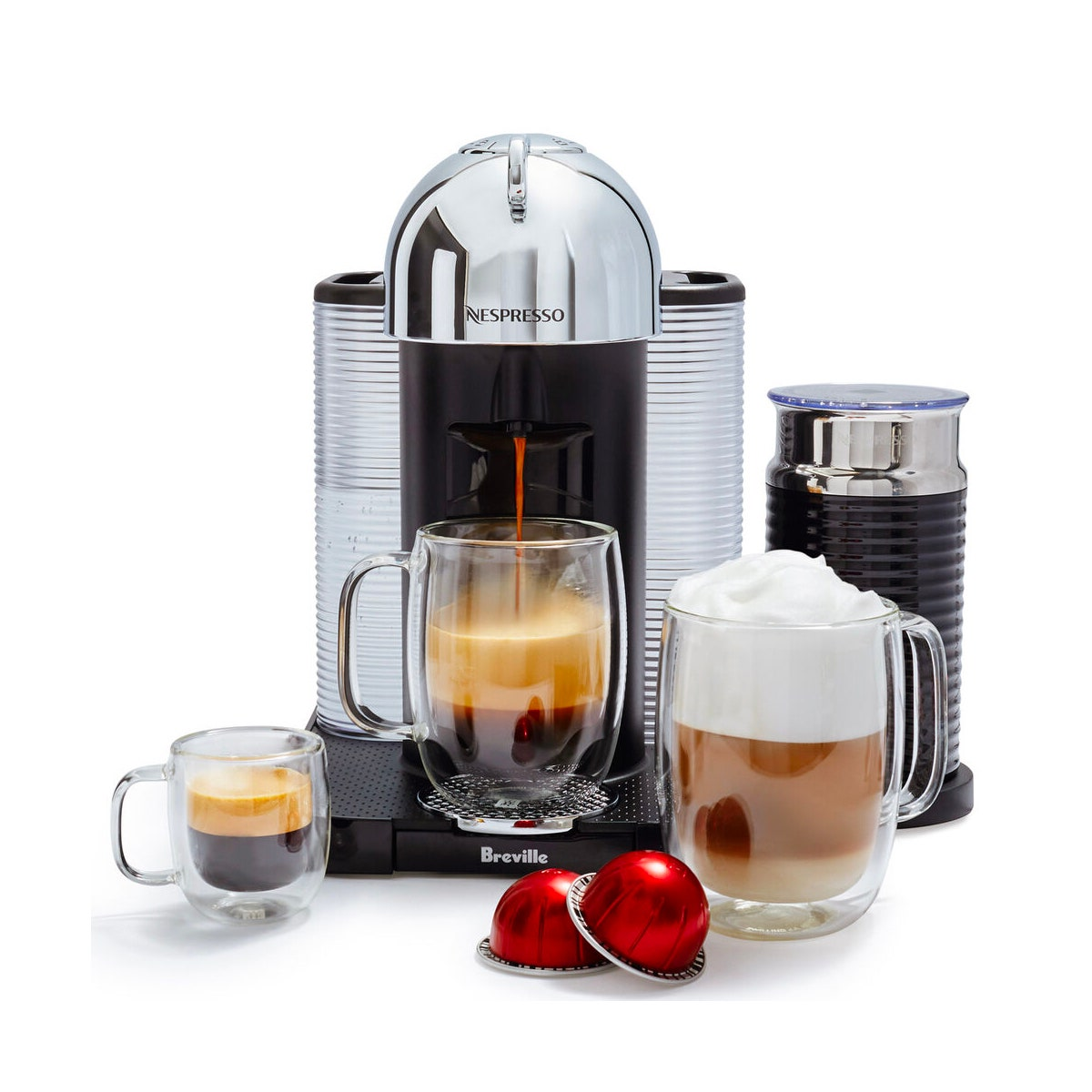 Nespresso Vertuoline by Breville With Aeroccino 3 Frother