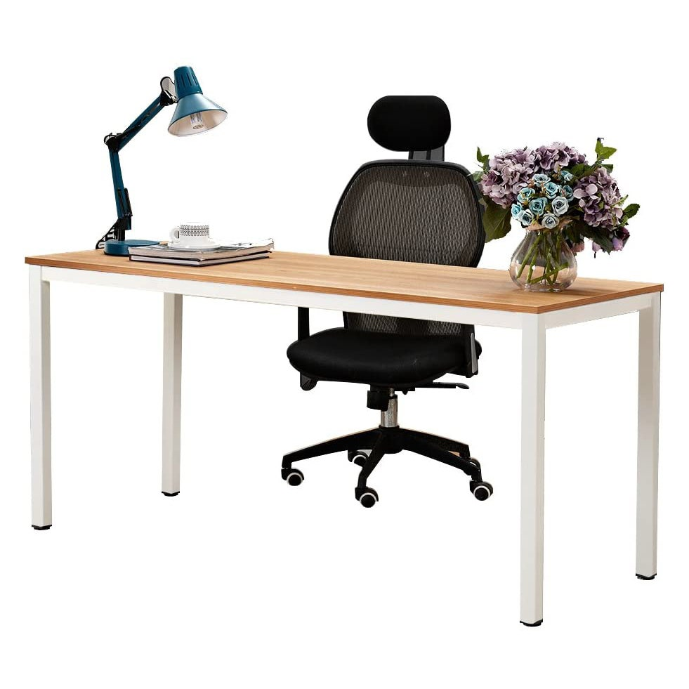 Image may contain: Furniture, Cushion, Desk, Table, Chair, Electronics, and Computer