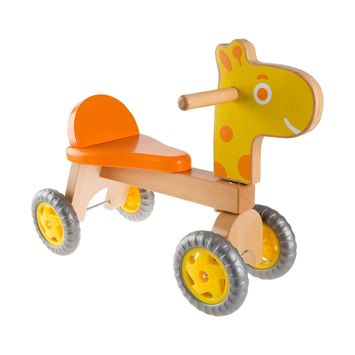 giraffe wood walk and ride bike for babies and toddlers