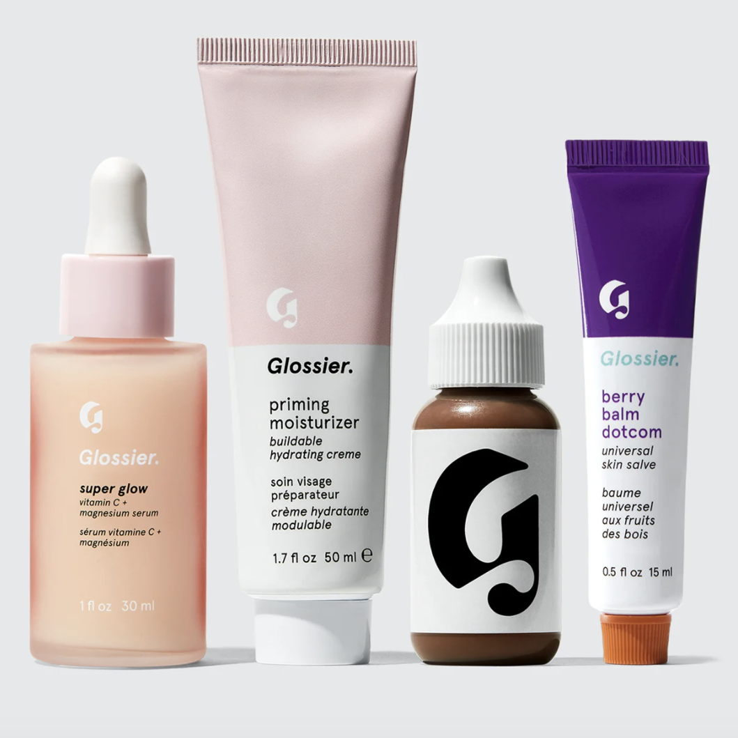 Four glossier products