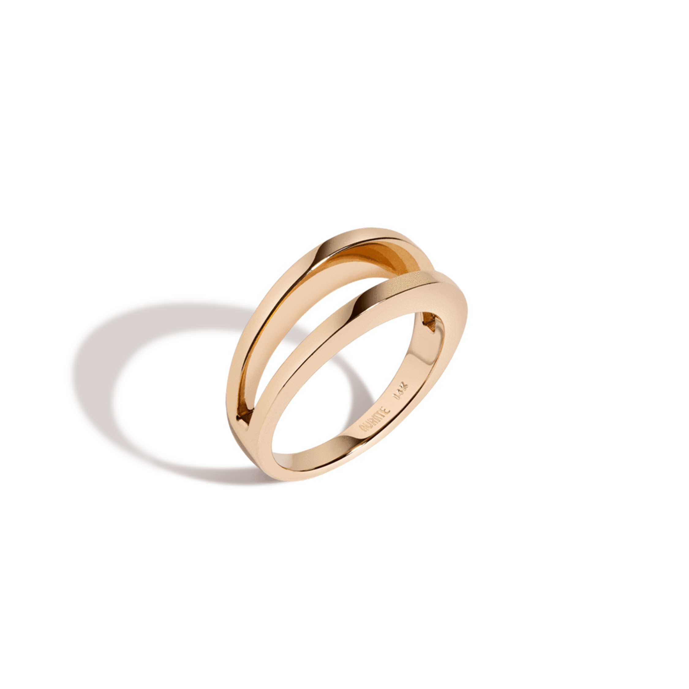 aurate lean on me ring