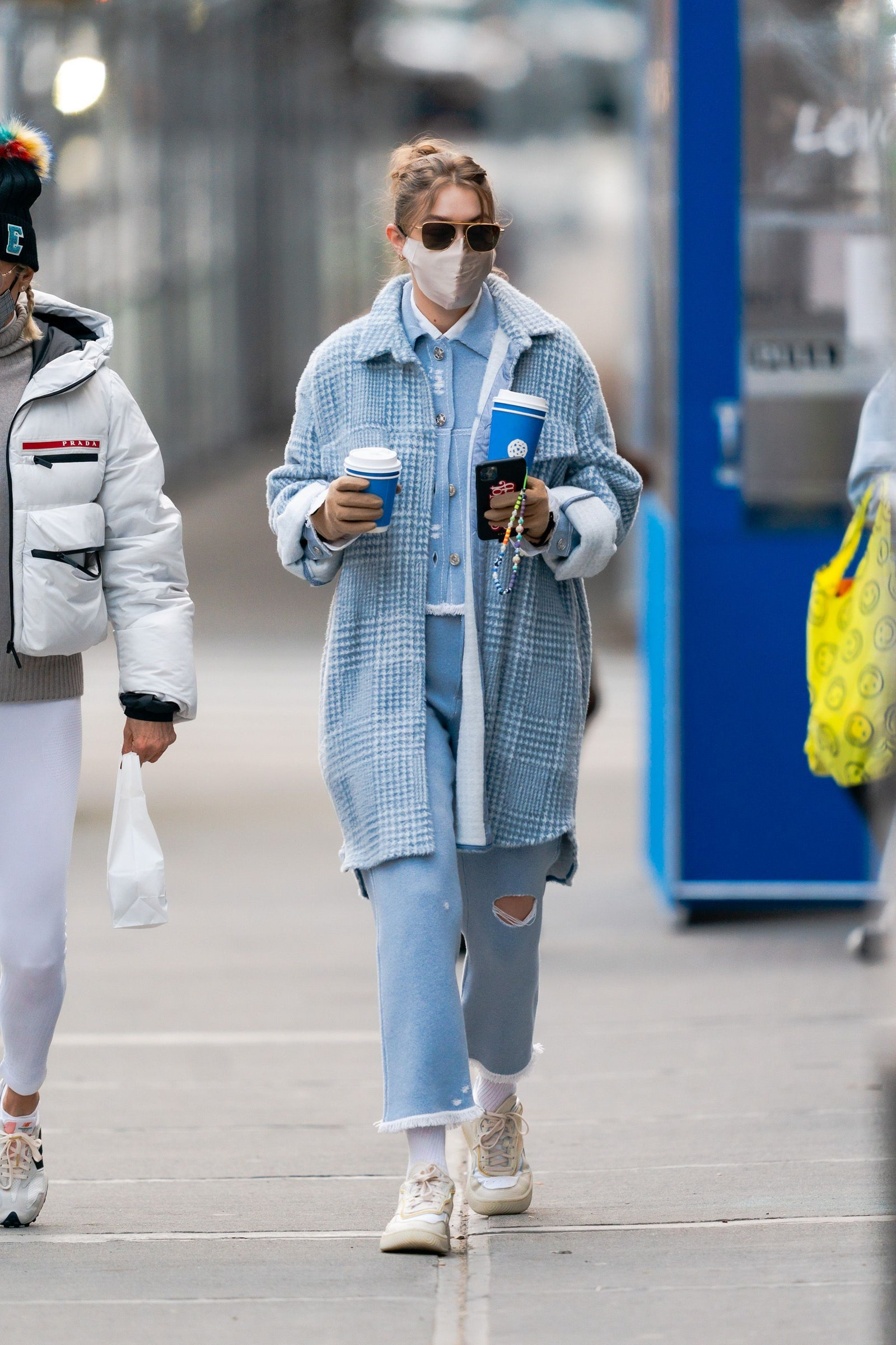 Gigi Hadid is seen in NoHo on January 13 2021 in New York City.nbsp