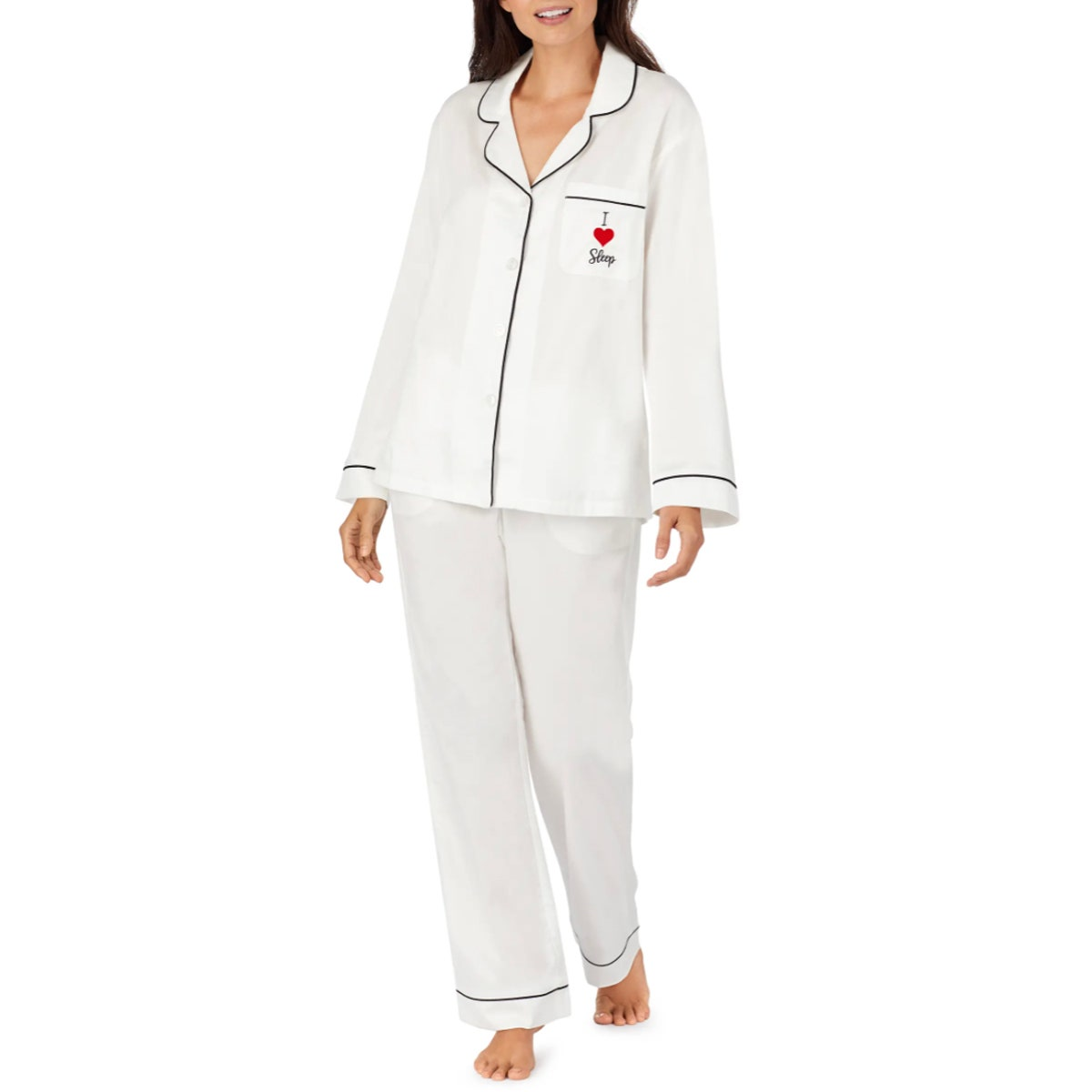 BedHead Pajamas I Love Sleep Organic Cotton Pajamas