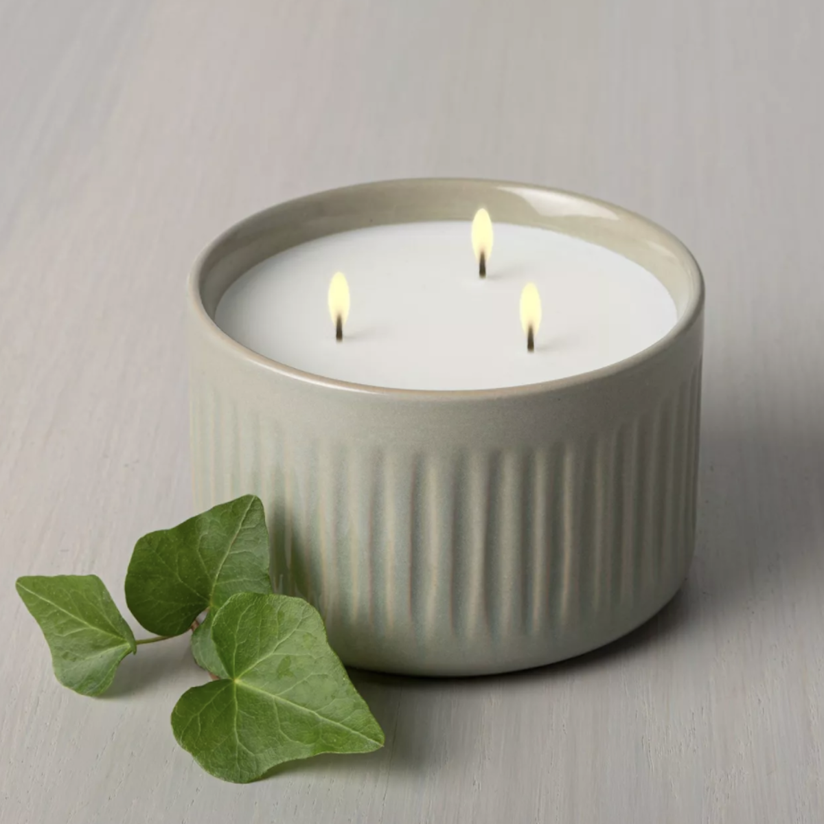 Magnolia moss and ivy candle at Target