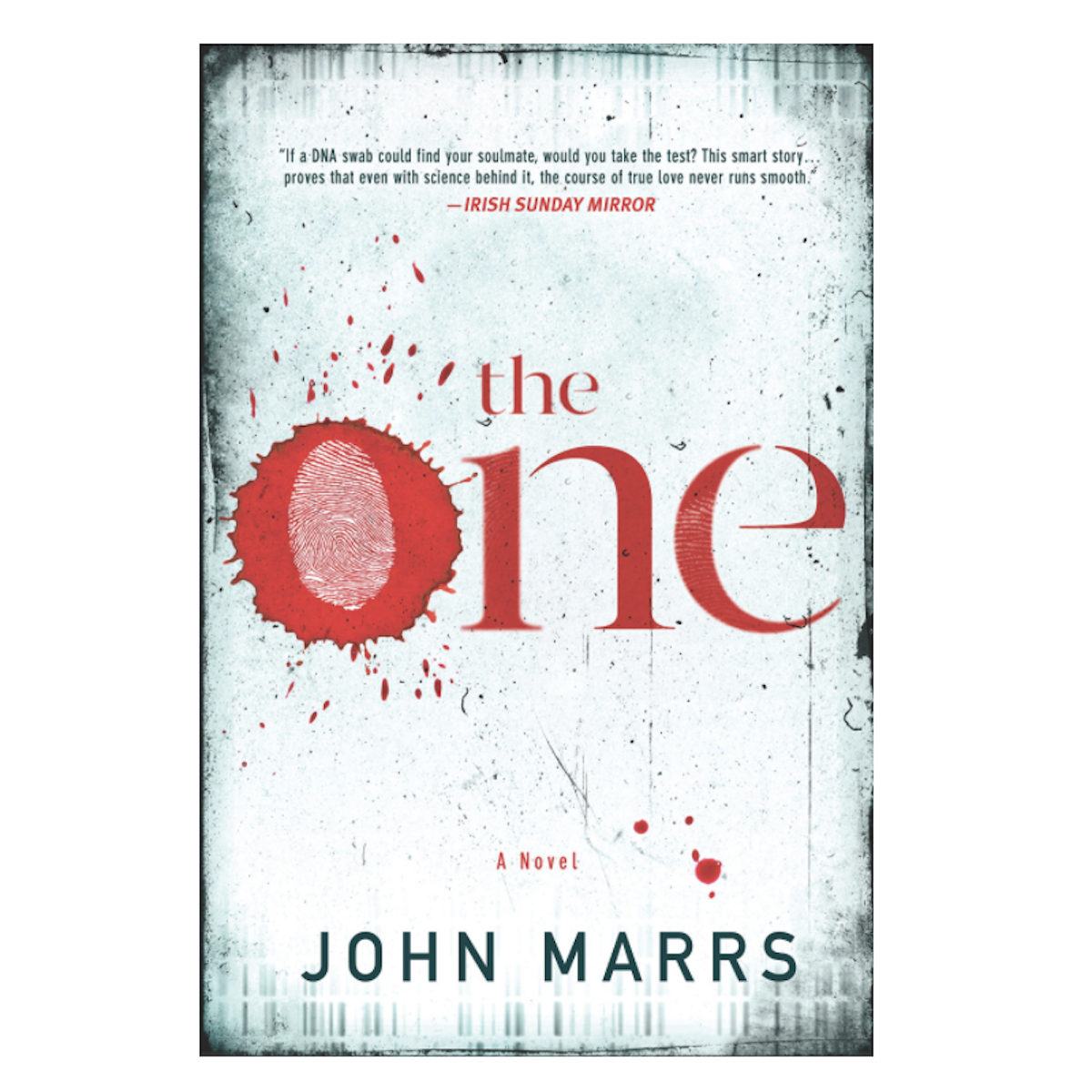 The One by John Marrs hardcover book