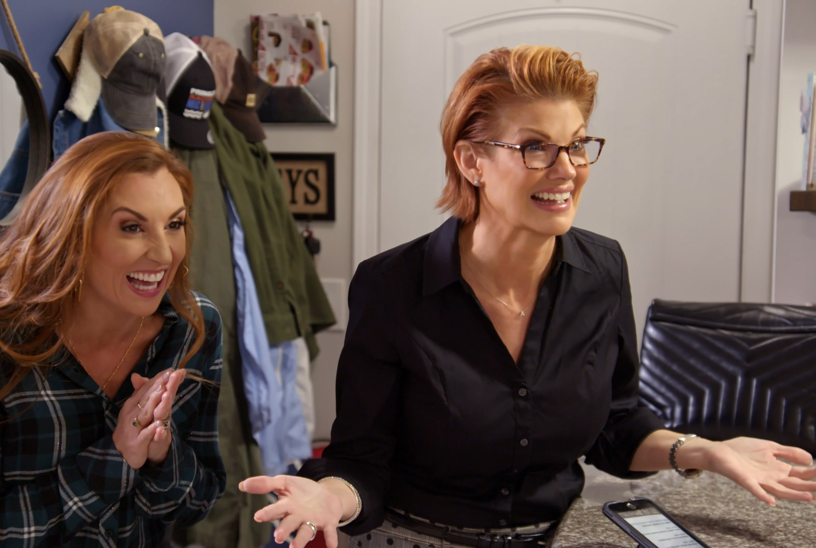 MARRIAGE OR MORTGAGE SARAH MILLER and NICHOLE HOLMES in Episode A LITTLE BIT CLASSY AND TRASHY from MARRIAGE OR...