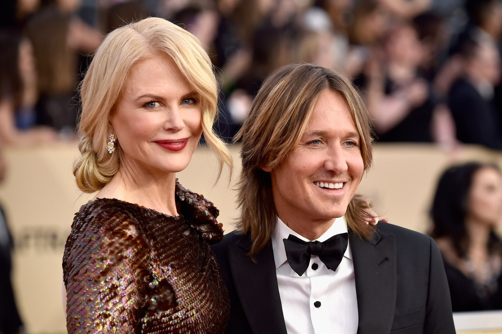 LOS ANGELES CA JANUARY 21 Actor Nicole Kidman and musician Keith Urban attend the 24th Annual Screen Actors Guild...