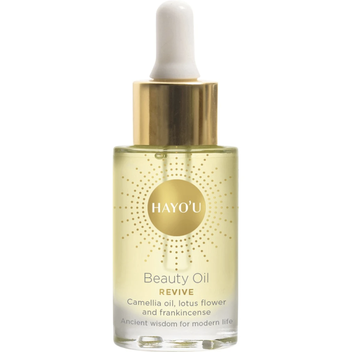 Hayou Beauty Oil with Camelia oil, lotus flower