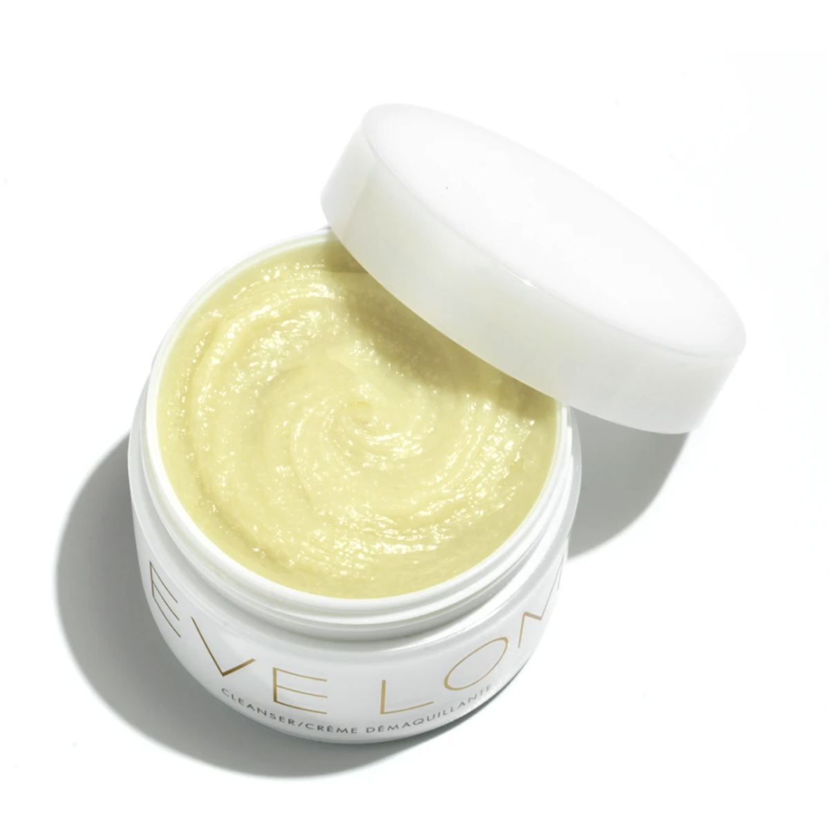 Eve Lom Cleanser in white tub